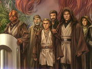 Jedi-Gruppenbild