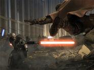 Sith-Schwertwurf
