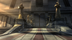 TOR Jedi Tempel Eingang