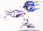 Entwurf Speeder Episode VI