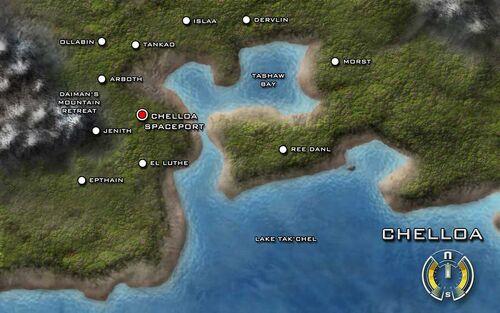 Karte von Chelloa