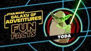 STAR WARS – GALAXY OF ADVENTURES FUN FACTS Jedi Meister Yoda Star Wars Kids