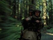 Luke & Leia Verfolgungsjagd