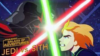 STAR WARS – GALAXY OF ADVENTURES Jedi vs. Sith - Die Skywalker Saga Star Wars Kids
