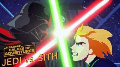 STAR WARS – GALAXY OF ADVENTURES Jedi vs