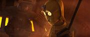 Bane und 3PO
