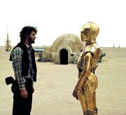 George Lucas mit C-3PO