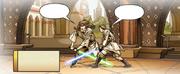 Qui-Gon trainiert Obi-Wan