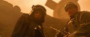 Val und Beckett bei der Schlacht von Mimban