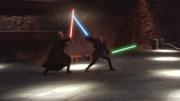 Anakin gegen Dooku in Episode 2