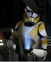 JTs Kommandant erhält Befehl