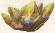 Heilender Kristall des Feuers