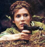 Leia auf Endor