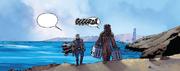 Beckett mit Chewie