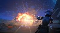 Sabine und die Explosion