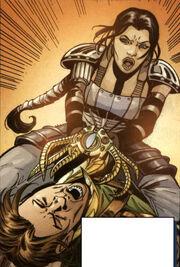 Zayne und Celeste ringen um den Talisman