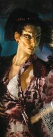Elan mit Ooglith-Maske