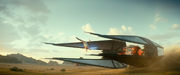 Rey springt über Wisperjäger