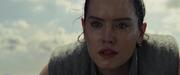 Rey bei ihrer Lektion