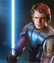 Anakin Skywalker in Galaxy of Heroes
