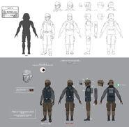 Rebellensoldat Uniform Rebels Concept