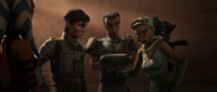 Besprechung der Onderon-Rebellen
