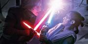 Rey kämpft gegen Kylo Ren