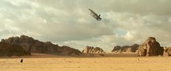 Rey vs Kylo Ren (Pasaana)