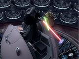 Duell im Gebäude des Galaktischen Senats