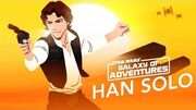 STAR WARS – GALAXY OF ADVENTURES Han Solo - Der beste Schmuggler der Galaxis Star Wars Kids