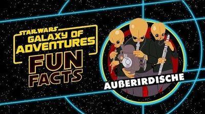 STAR WARS – GALAXY OF ADVENTURES FUN FACTS Außerirdische Star Wars Kids