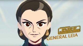STAR WARS – GALAXY OF ADVENTURES General Leia Star Wars Kids