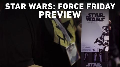 Star Wars Force Friday Preview