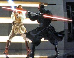 Darth Maul vs Obi-Wan