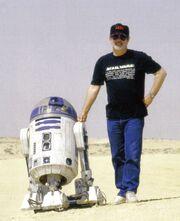 George Lucas & R2-D2