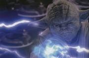 Yoda Machtblitze Ep III