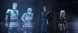 Rebellen Hologramm