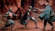 Djarin gegen Trandoshaner
