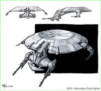 Droiden-Kanonenboot Konzept