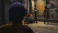 Lando auf der Ghost