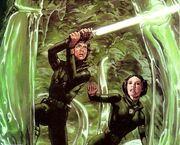 Luke Leia auf Mimban
