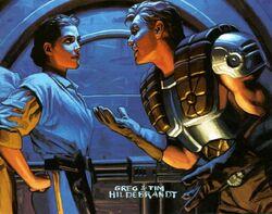 Leia und Dash Render