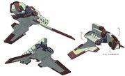 Nu-Klasse Angriffsshuttle 3 Seiten