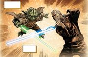 Dookus Jedi-Lichtschwert