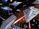 Angriff gegen die Restflotte der Galaktischen Allianz