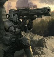 Spürtruppebewaffnung