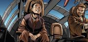 Anakin und Obi-Wan fliegen nach Dallenor