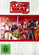 The Clone Wars Staffel 2 DVD Cover