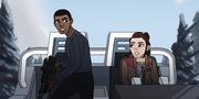 Rey und Finn als Team