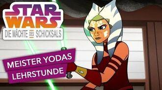 STAR WARS – DIE MÄCHTE DES SCHICKSALS – Meister Yodas Lehrstunde Star Wars Kids